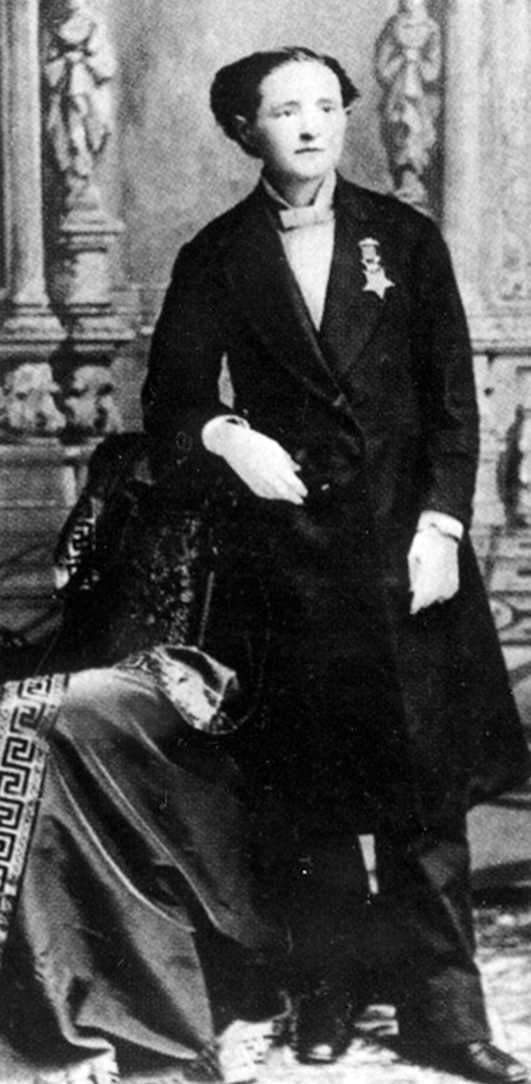 Dr. Mary Edwards Walker, Civil War.  Library of Congress (LC-USZ62-15558)