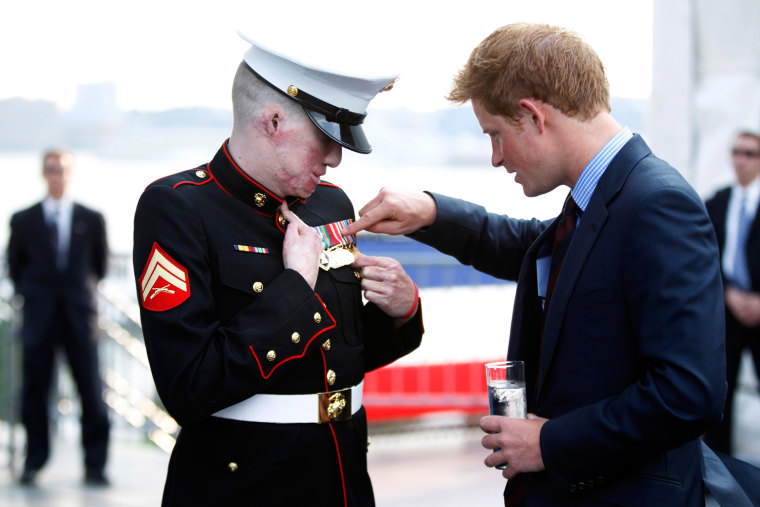 Image: Prince Harry Visits NYC - Day 1