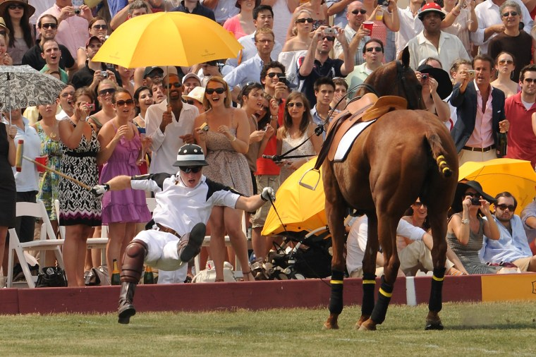 Image: Prince Harry Competes In The 3rd Annual Veuve Clicquot Polo Classic