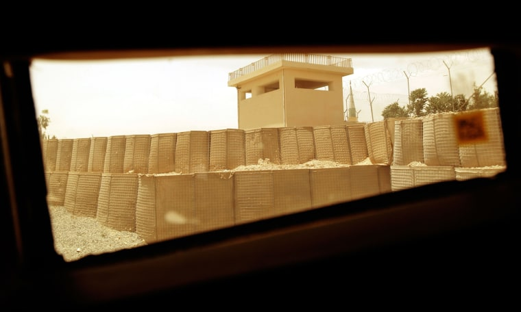 Image: View on Kandahar Through Window Of New Army Vehicle