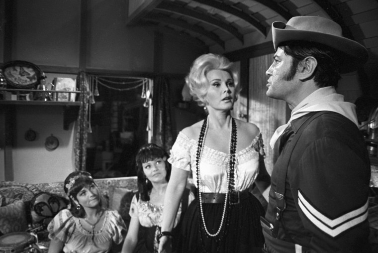 ZSA ZSA GABOR, LARRY STORCH