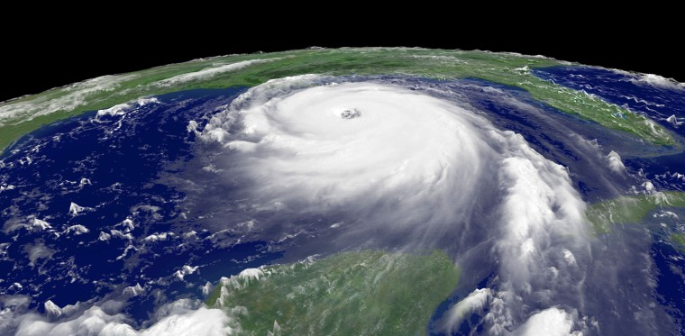 Hurricane Katrina Hits The Gulf Coast