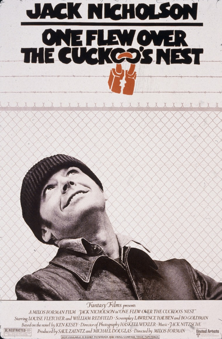 Movie Poster For 'One Flew Over The Cuckoo's Nest'