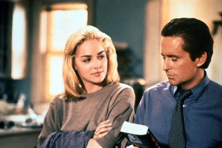 Basic Instinct  1992 - When a cop's search for a ruthless killer leads him to wealthy and seductive author, his involvement turns personal, and he must balance their affair with the mounting evidence against her.
