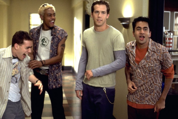 National Lampoon's Van Wilder (2002) A student not ready to face the real world  does everything he can to stay in college as long as he can manage. His biggest challenge? His fed-up father refuses to pay for one more semester.