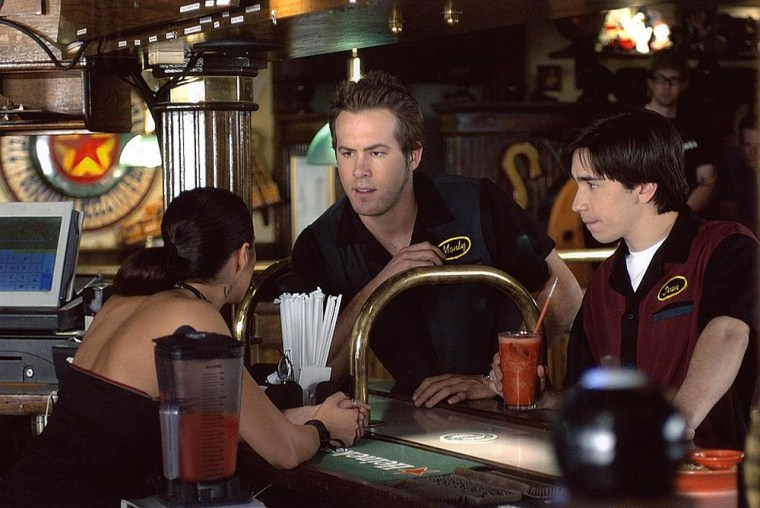 Waiting (2005) A hilarious comedy about frustrated waiters, stingy tippers and dicey food, Lions Gate Films' Waiting stars Ryan Reynolds, Justin Long and Anna Faris as young employees battling boredom at Shenanigan's, a generic chain restaurant.