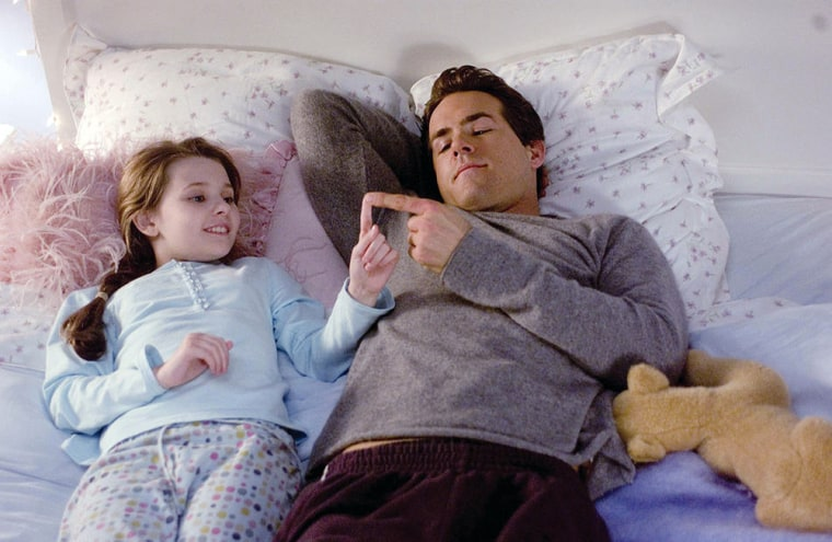 Definitely, Maybe (2008) 10-year-old Maya Hayes (ABIGAIL BRESLIN) wants to know everything about how her dad, Will (RYAN REYNOLDS). Ryan Reynolds stars as Will Hayes, a 30-something Manhattan dad in the midst of a divorce when his 10 year-old daughter, Maya (Abigail Breslin), starts to question him about his life before marriage . Maya wants to know absolutely everything about how her parents met and fell in love.