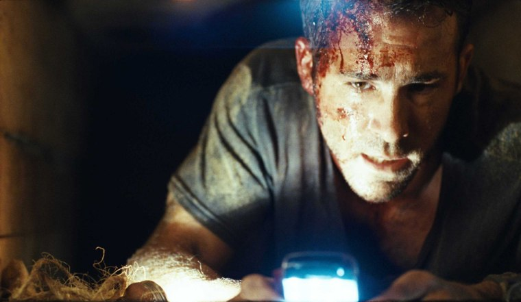 Ryan Reynolds stars as 'Paul Conroy' in BURIED. Photo courtesy of Lionsgate