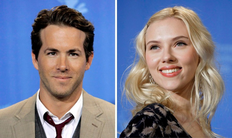 Image: Scarlett Johansson and Ryan Reynolds marry in Canada