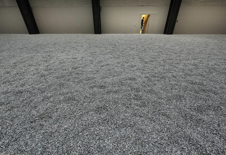 Image: Chinese Artist Ai Weiwei Unveils This Year's Unilever Installation At The Tate Modern