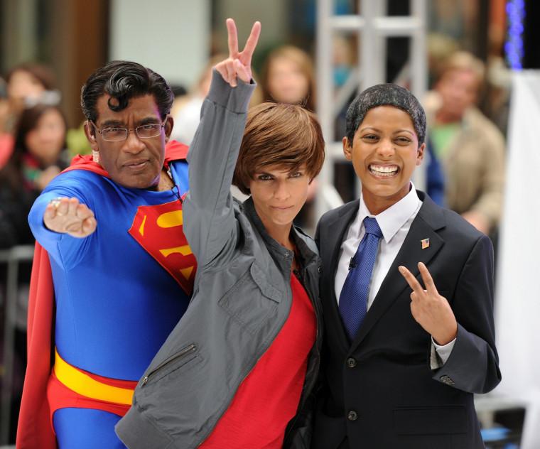"Image: 2010 NBC's ""Today"" Halloween Episode"