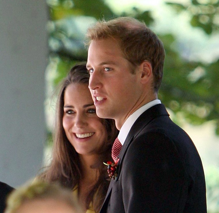 Prince William and Kate Middleton attend the wedding of friend Chiara Hunt in Salzburg, Austria - 06 Sep 2008