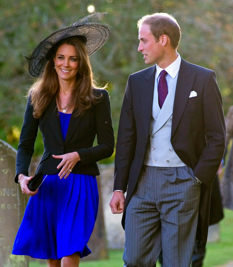 Image: Prince William and Kate Middleton Attend Harry Meade And Rosie Bradford's Wedding