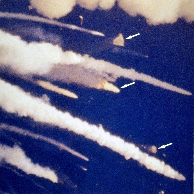 The Challenger Tragedy In Pictures