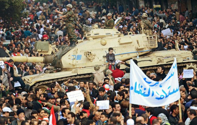 Image: Egypt political crisis