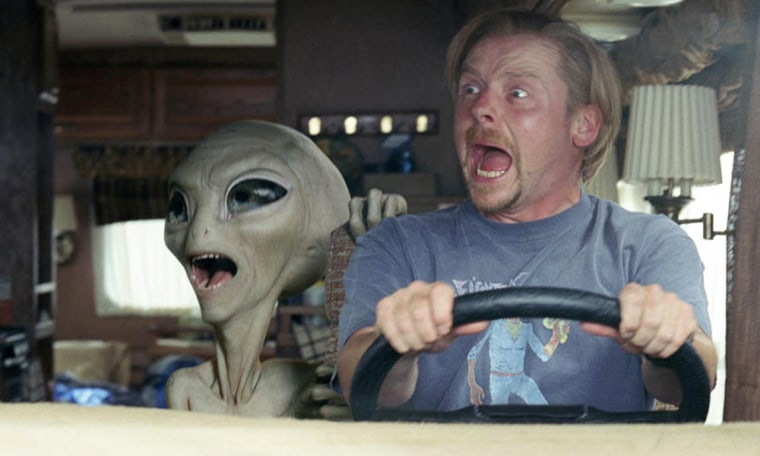 Paul (2011) For the past 60 years, an alien named Paul has been hanging out at a top-secret military base. For reasons unknown, the space-traveling smart ass decides to escape the compound and hop on the first vehicle out of town -- a rented RV containing Earthlings Graeme Willy and Clive Gollings. Chased by federal agents and the fanatical father of a young woman that they accidentally kidnap, Graeme and Clive hatch a fumbling escape plan to return Paul to his mother ship. And as two nerds struggle to help, one little green man might just take his fellow outcasts from misfits to intergalactic heroes.