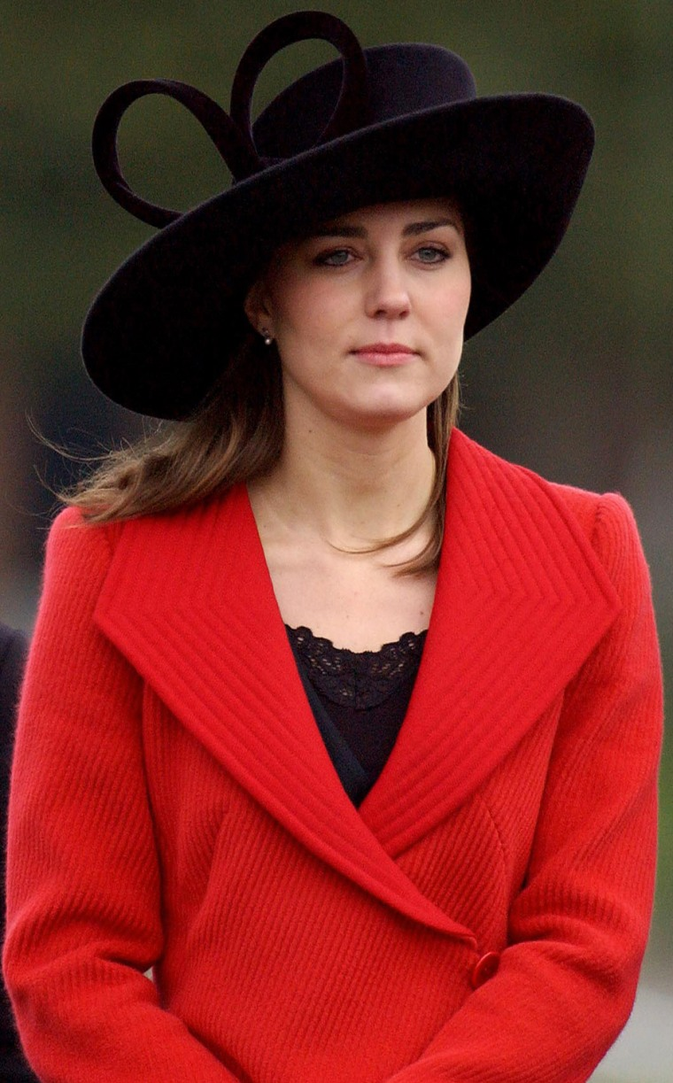 Prince William's girlfriend Kate Middlet