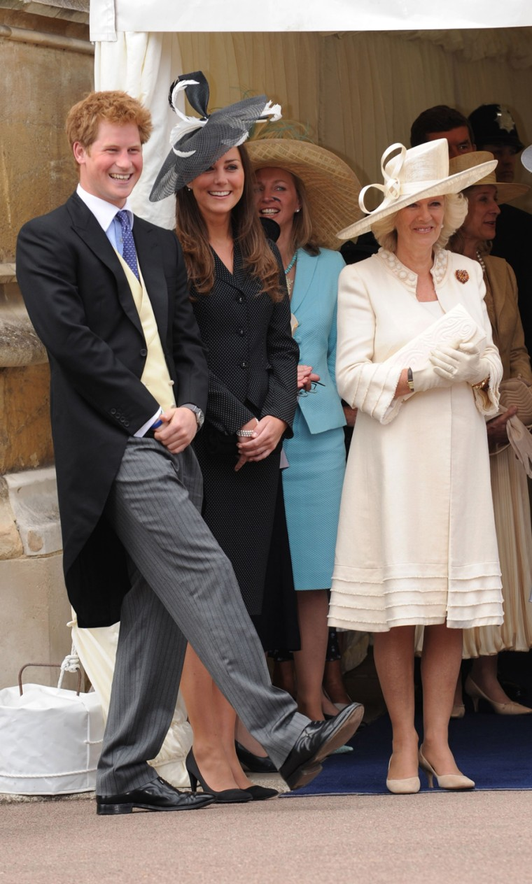 Image: Image: Royals Attend Order of The Garter Service
