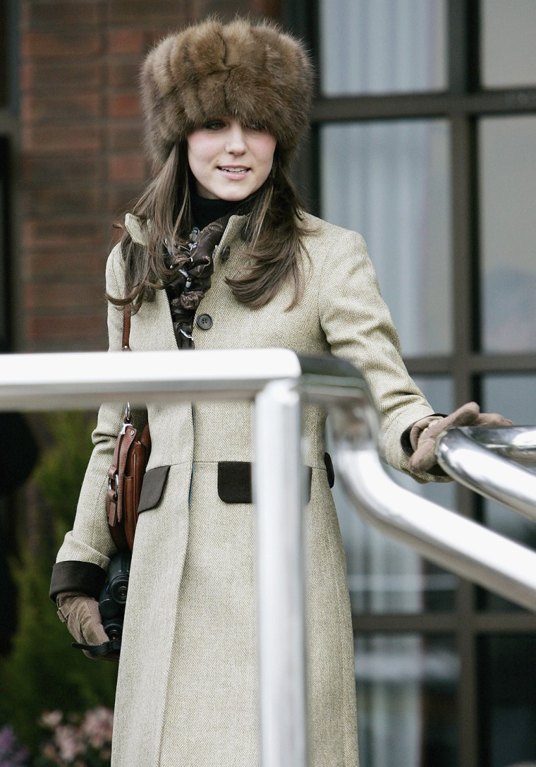 Kate Middleton at Cheltenham Festival