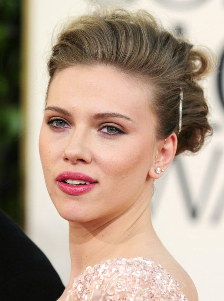 Image: Actress Scarlett Johansson arrives on th