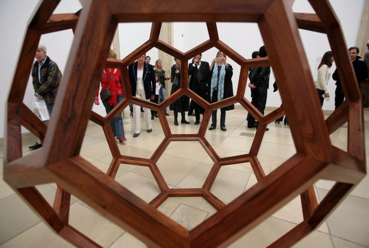 Ai Weiwei 'So Sorry' Exhibition Opening