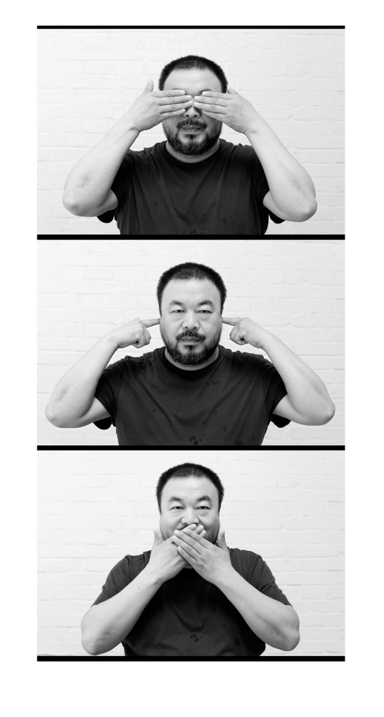 Image: Chinese Artist and Dissident Ai Weiwei Arrested