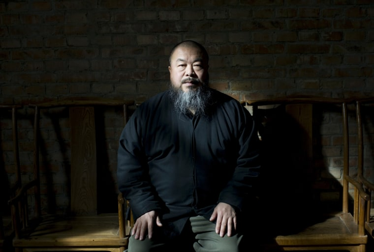 Image: Ai Weiwei, a high-profile artist and ardent government critic.