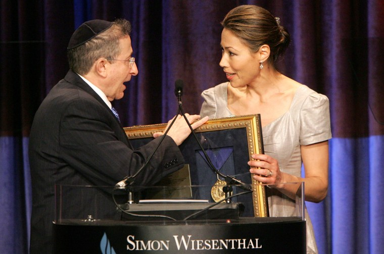 Wiesenthal Center Tribute Dinner - Inside