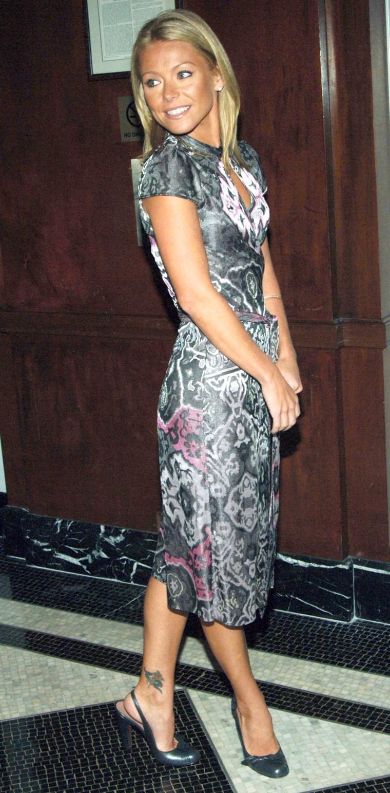 2005 IRTS Foundation Awards Lunch Honoring Kelly Ripa & Regis Philbin
