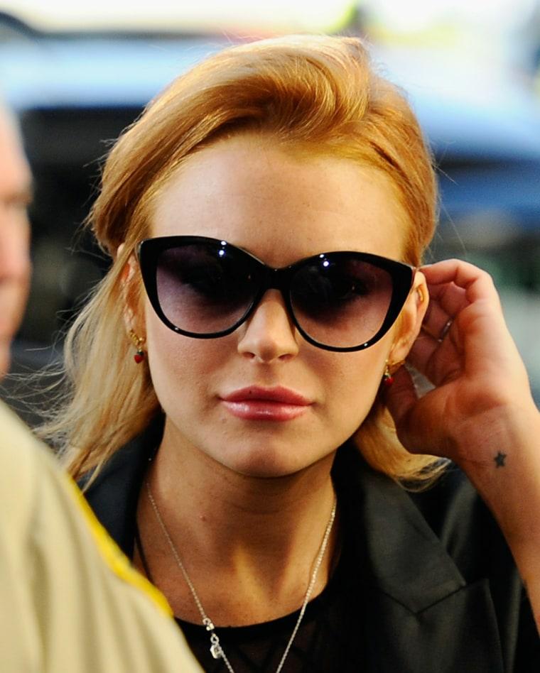 Image: Lindsay Lohan Probation Hearing