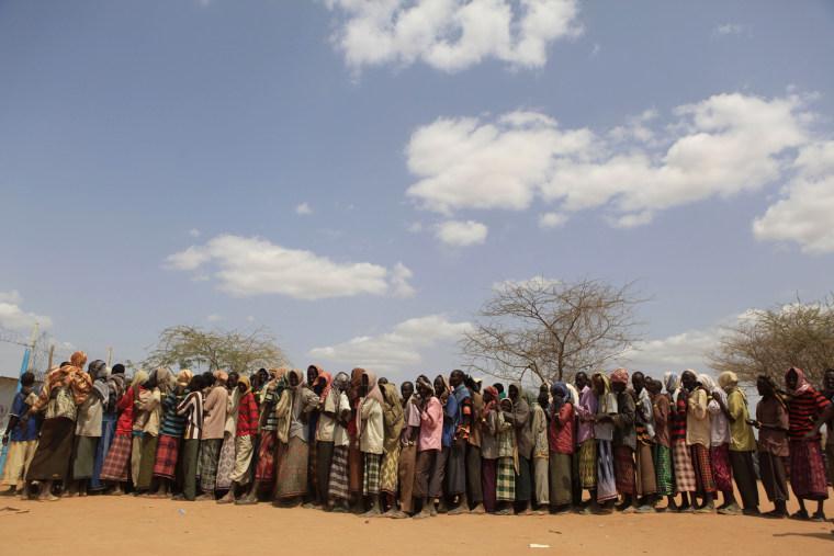 Famine strikes Eastern Africa