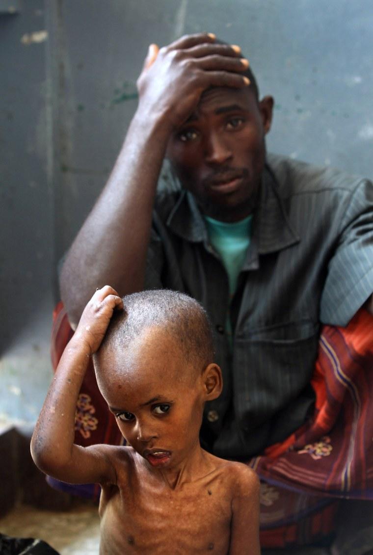 Image: BESTPIX  Somali Famine Refugees Seek Aid In Mogadishu