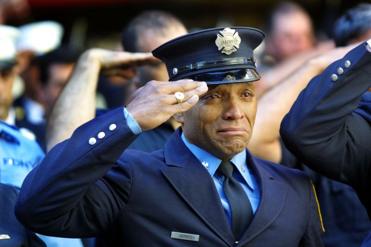 First Firefighter Funeral After WTC Disaster