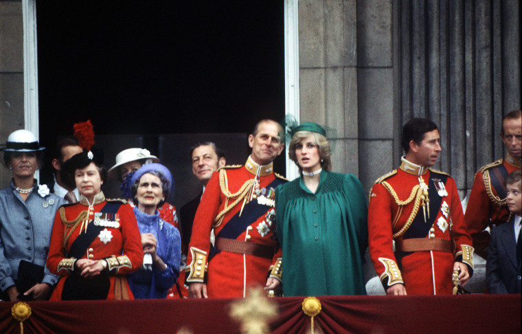 TROOPING OF THE COLOUR ./JUNE 1982