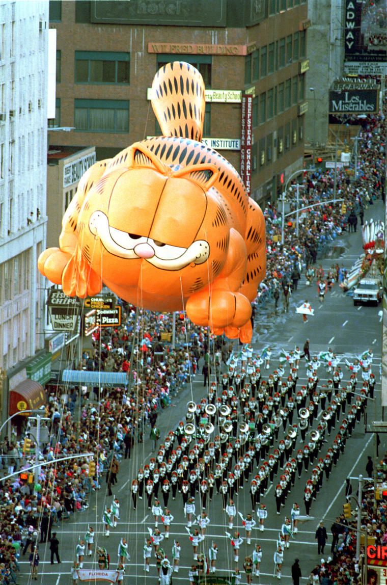 Macy's Thanksgiving Parades of the past