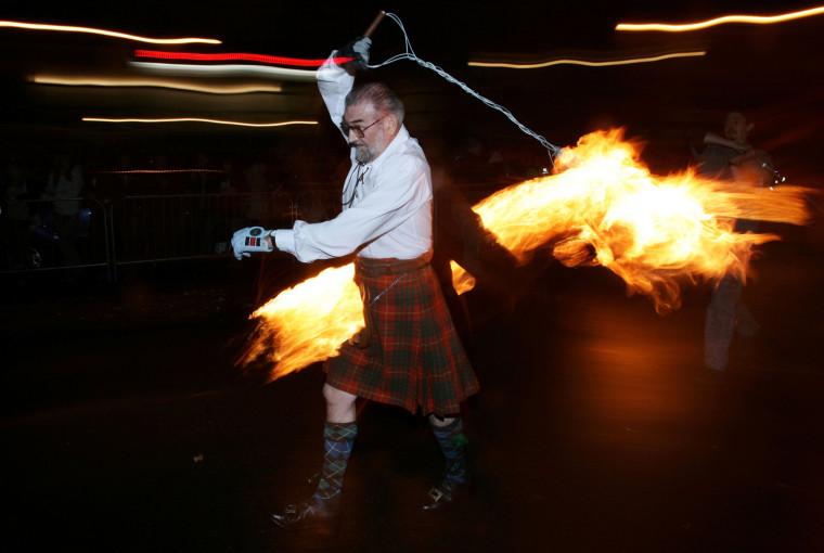 Image: The Fireballs Hogmany Celebrations In Stonehaven