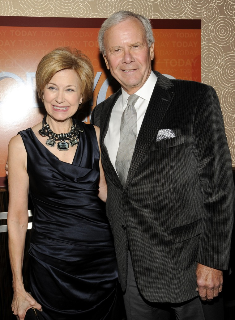 Image: Jane Pauley, Tom Brokaw