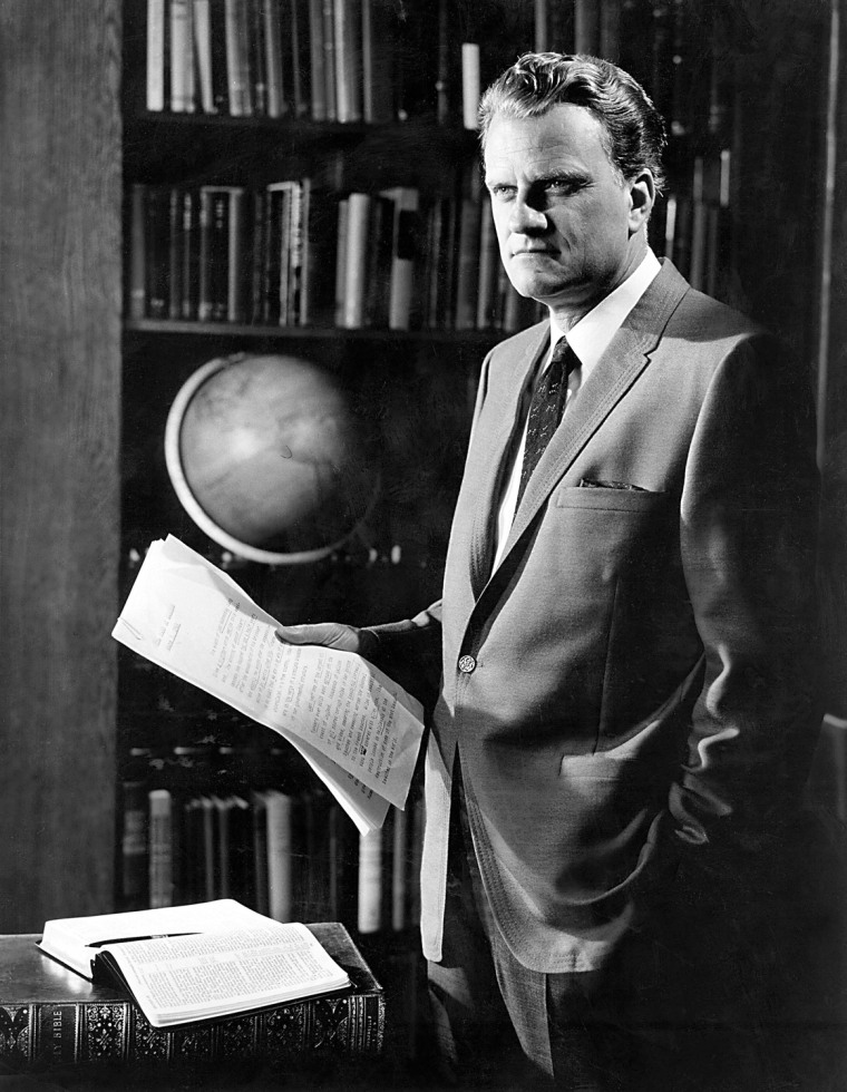 Image: The Rev. Billy Graham
