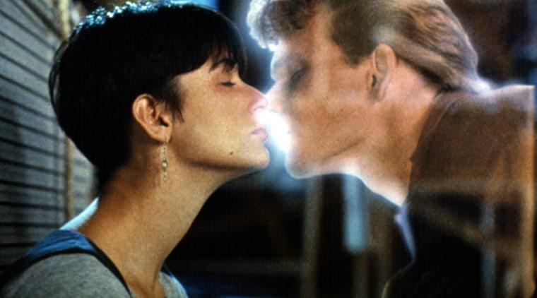 GHOST, Demi Moore, Patrick Swayze, 1990