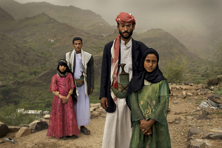 "Image: Stephanie Sinclair of the U.S. has won the first prize Contemporary Issues Stories with the series ""Child brides: Too young to wed""."