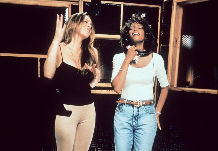 In An Historic First Time Duet Two Of Today's Biggest Female Recording Artists Whitney
