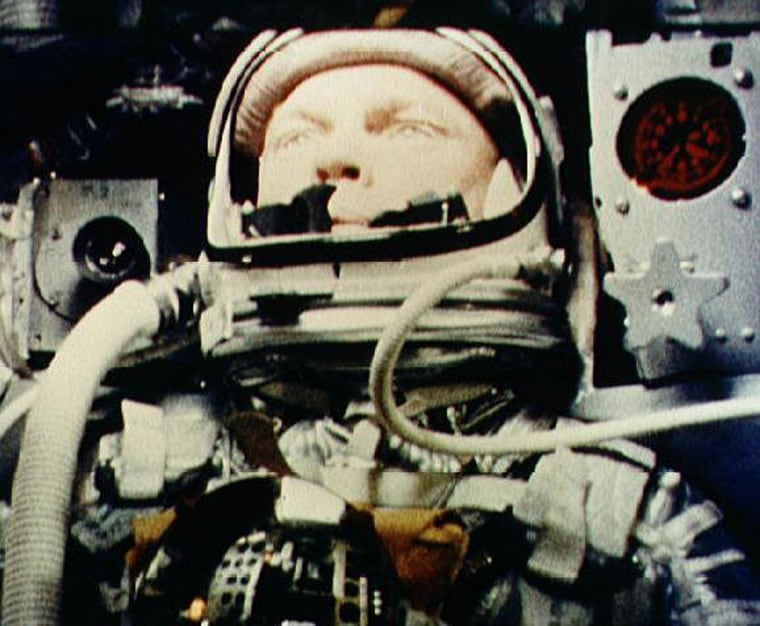 Image: This1962 NASA file photo shows then astronaut John