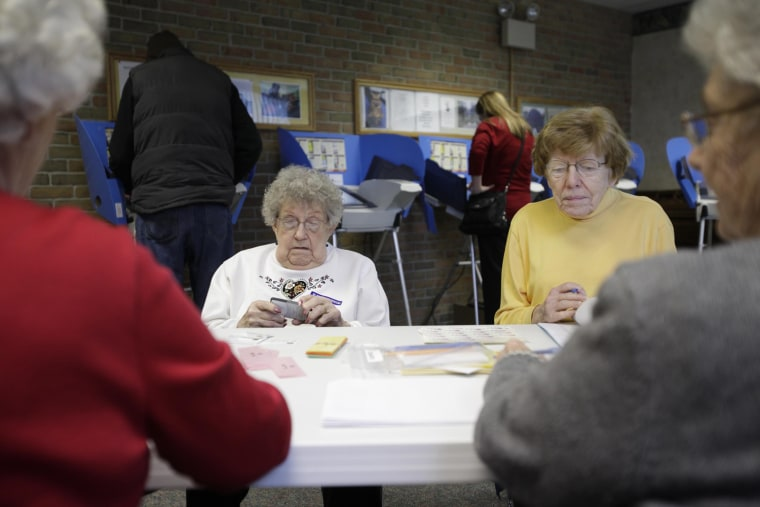 Image: Voters Head To Polls On Super Tuesday