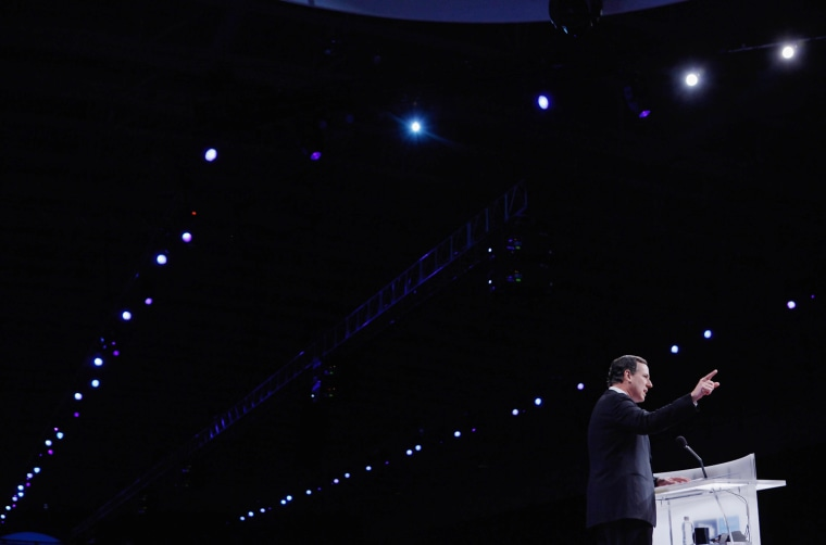 Image: BESTPIX   Santorum Speaks At The American Israel Political Action Committee Conference