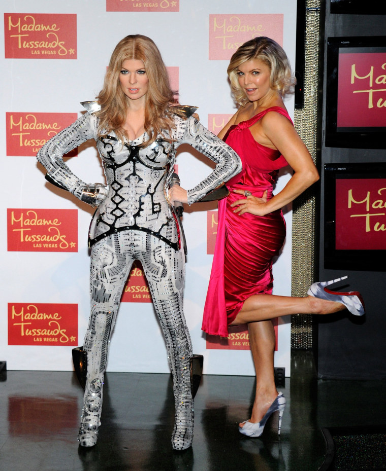 "Image: Stacy ""Fergie"" Ferguson Of Black Eyed Peas Wax Figure Unveiled At Madame Tussauds Las Vegas"