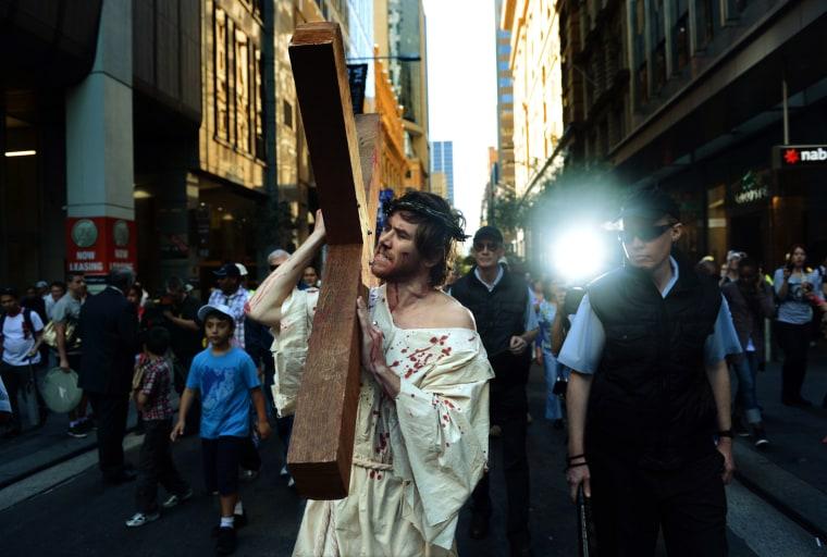 Image: Good Friday in Sydney