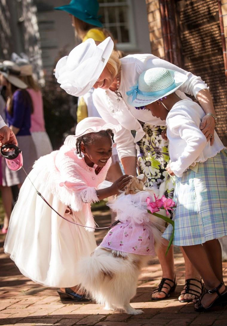 Image: Charleston Hosts Annual Hat Ladies Easter Parade