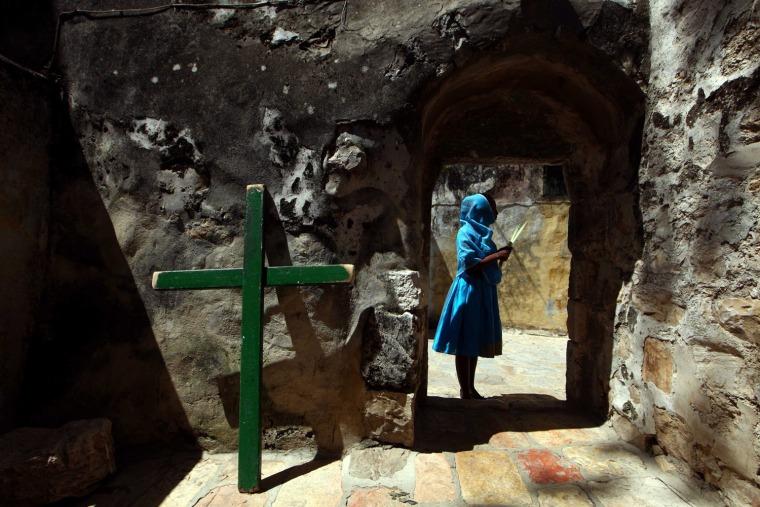 Image: Orthodox Easter Celebrations in Jerusalem