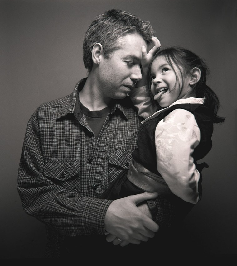 Image: Adam Yauch with daugther Lossel