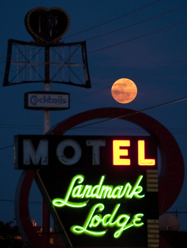 Image: Super Moon Texas